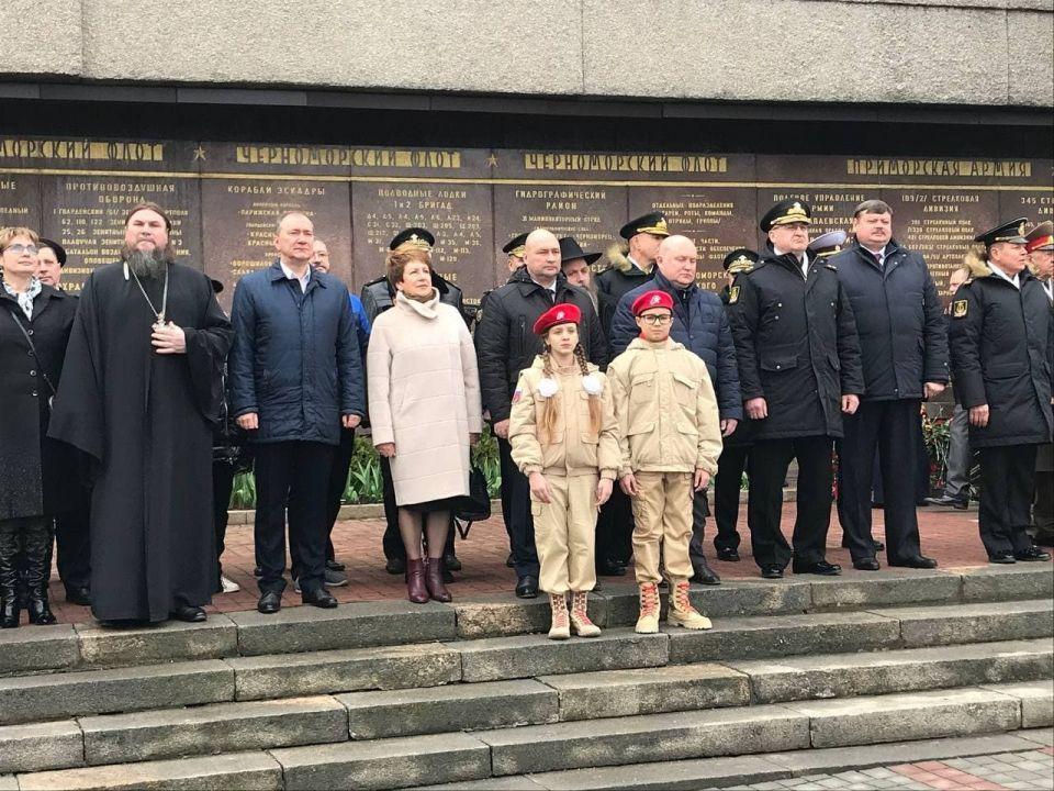 В Севастополе почтили память погибших защитников Отечества