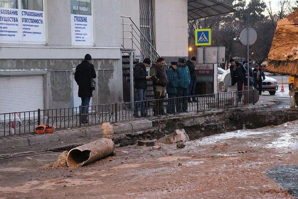 Часть Симферополя отмечает 23 февраля без воды