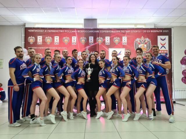 Крымские чирлидеры выиграли «серебро» чемпионата России