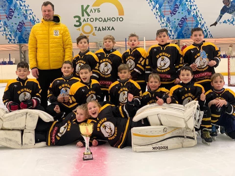 Симферопольские хоккеисты победили в Краснодарском крае