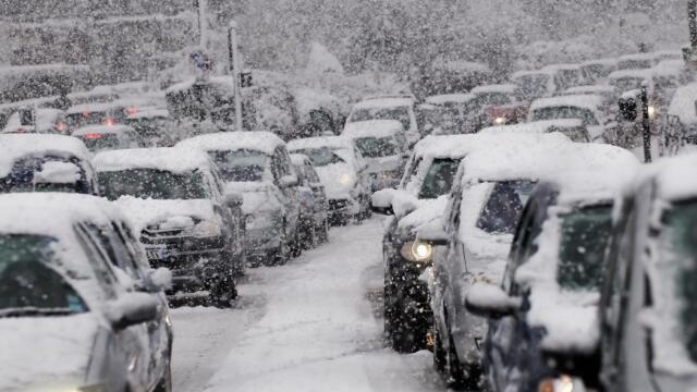 В Крым снова идут морозы и снегопады