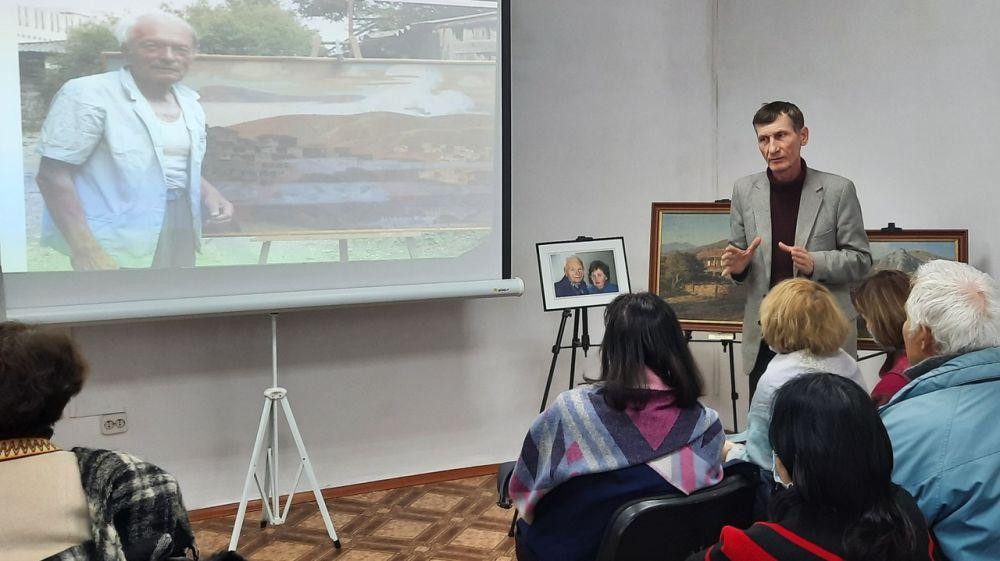 Вечер памяти художника Октября Федотова прошел в Крымскотатарском музее культурно-исторического наследия