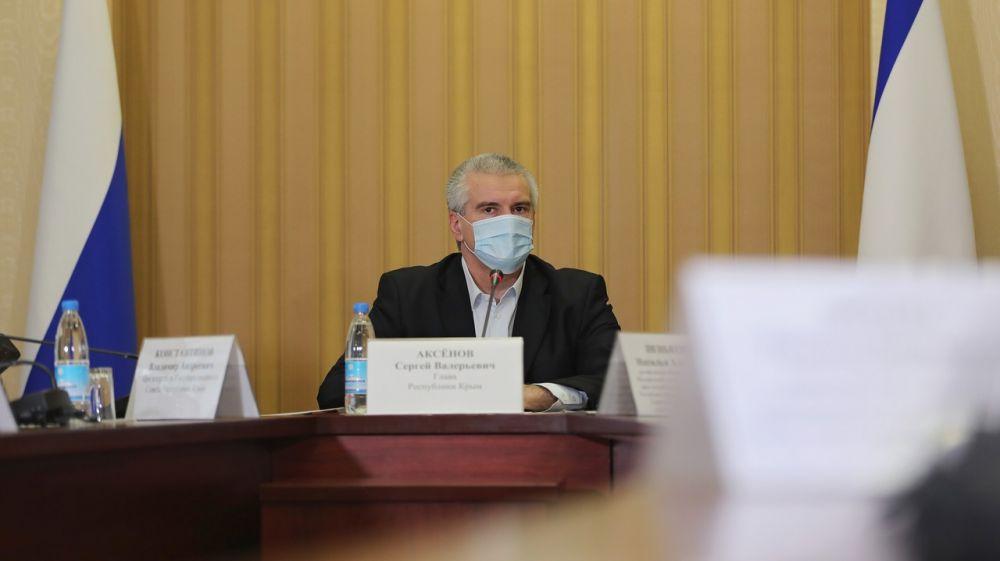Сергей Аксёнов: Динамика заболеваемости COVID-19 идет на спад, но крымчанам по-прежнему необходимо соблюдать требования Роспотребнадзора