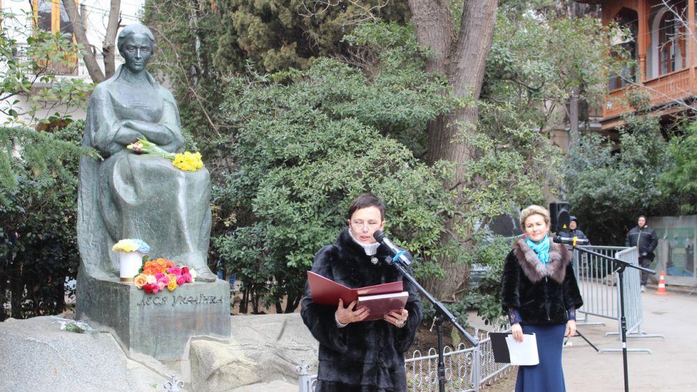 Представители республиканских музеев приняли участие в торжественном мероприятии, посвященном 150-летию со дня рождения выдающейся писательницы Леси Украинки
