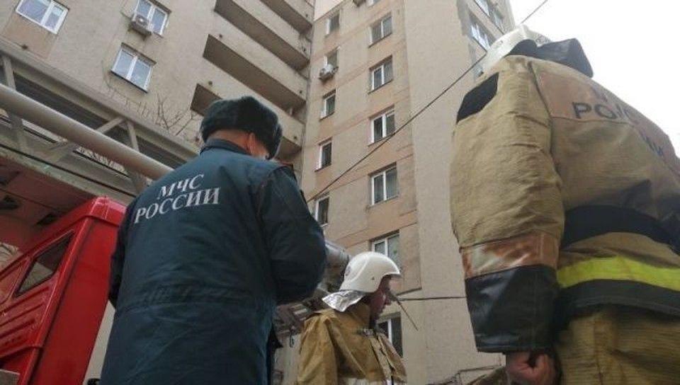 В Симферополе на пожаре спасли четверых человек