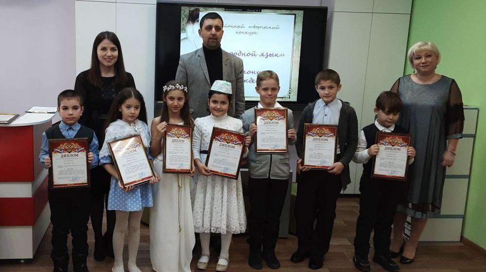 В Ленинском районе прошел Первый Районный творческий конкурс «Мой родной язык», среди учащихся начальных классов