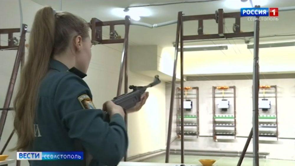 В Севастополе завершились соревнования по пулевой стрельбе среди юнармейских отрядов