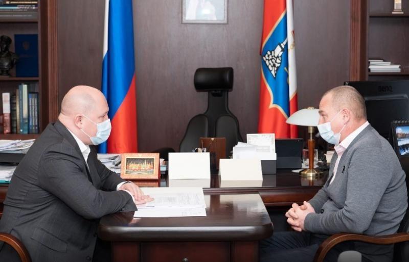 Михаил Развожаев обсудил разделение Нахимовского района с главой муниципального округа