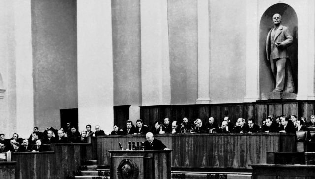 """Доклад Хрущева, перевернувший СССР: интервью сына """"врага народа"""""""