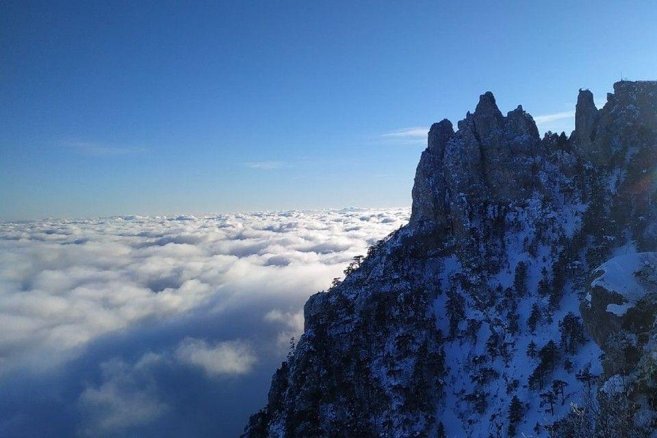 Выше облаков: В феврале Ай-Петри радует восхитительными видами