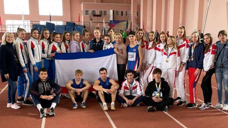 17 медалей завоевали крымские легкоатлеты на Всероссийских соревнованиях в Краснодаре
