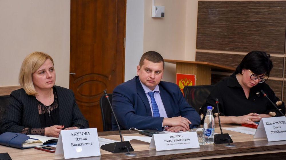 25 февраля начальник Инспекции Элина Акулова приняла участие в открытии очередного курса лекций Школы грамотного потребителя в г. Евпатория