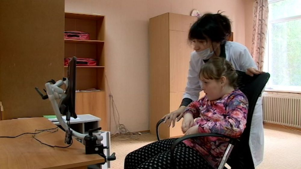 Севастопольский детский центр реабилитации получил новейший многофункциональный аппарат