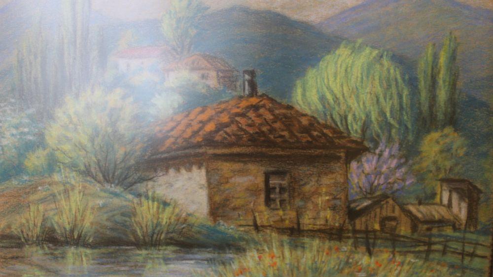 Выставка «Ах, эти краски акварели...» начнет работу в Крымском этнографическом музее