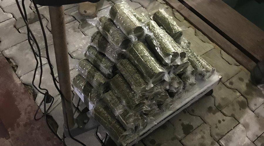 Пограничники задержали украинца за попытку провезти в Крым 20 кг марихуаны
