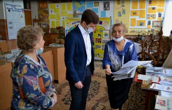 Владимир Бобков принял участие в выездах по школам Крыма в рамках Республиканского конкурса школьных музеев