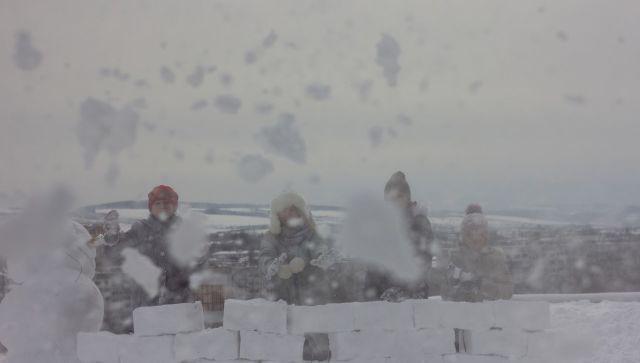 Снег и порывистый ветер: штормовое предупреждение на выходные в Крыму