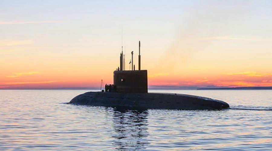 Экипаж подводной лодки «Колпино» сдал первую курсовую задачу