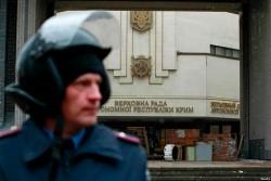 Хроника Крымской весны. 27 февраля: захват зданий, избрание Аксёнова премьером