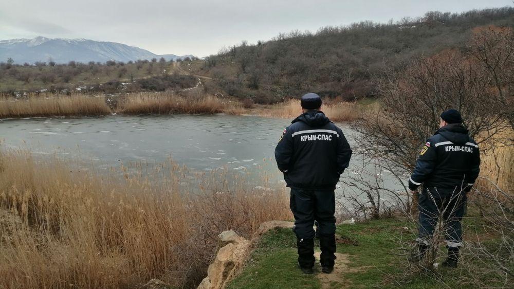 Сотрудники «КРЫМ-СПАС» совместно с членами КРО «РОССОЮЗСПАС» осуществляют патрулирование в горно-лесной местности