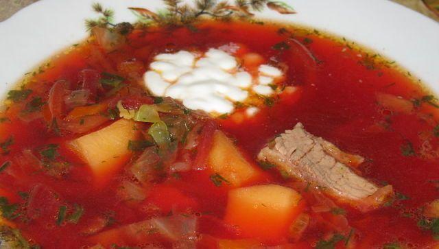 Борщ вошел в топ-3 лучших супов мира