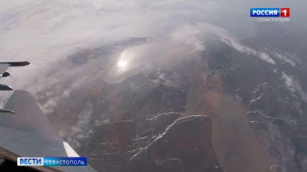 В Крыму проходят масштабные тактические учения авиации Черноморского флота
