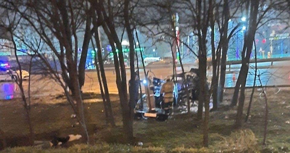 Крымские полицейские начали проверку после смертельного ДТП под Симферополем