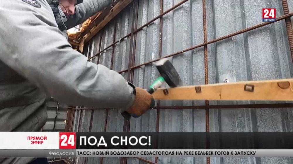 Навести порядок до начала курортного сезона. В Крыму сносят нестационарные торговые объекты