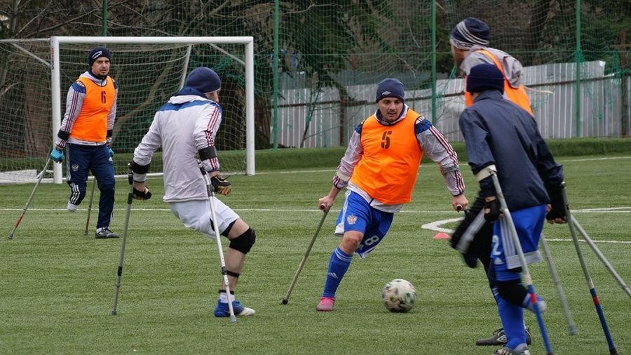 В Алуште тренируется сборная России по футболу ампутантов