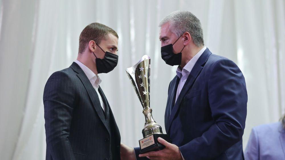 В Симферополе наградили лучших спортсменов Крыма по итогам 2020 года