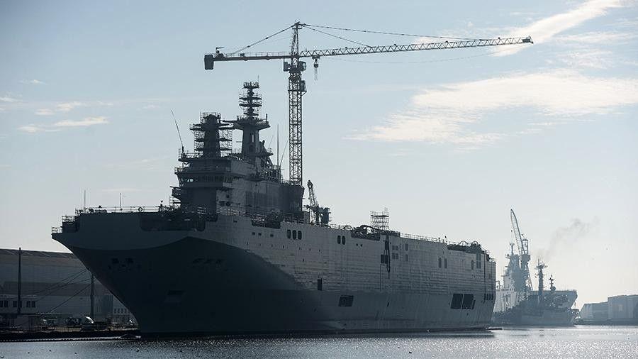 На заводе «Залив» в Крыму начали формировать корпуса кораблей-вертолетоносцев