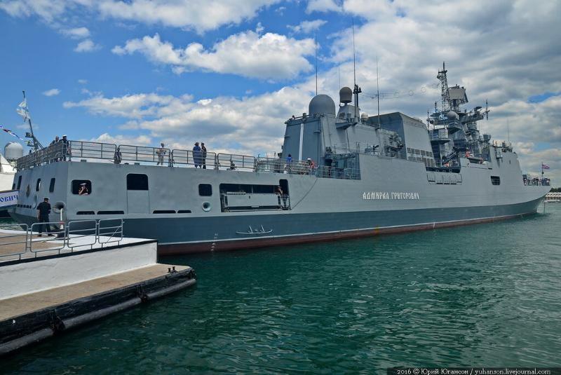 Фрегат ЧФ впервые посетил место будущего пункта обеспечения ВМФ России в Красном море