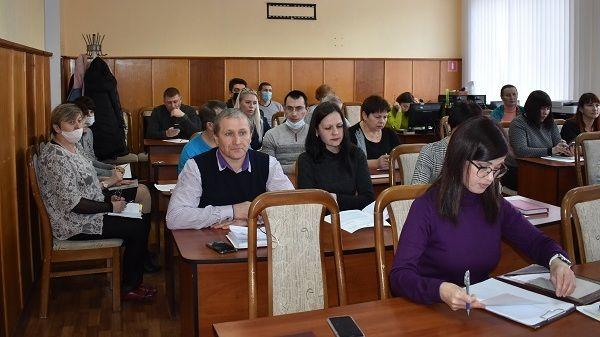 Андрей Сидоренко провел аппаратное совещание с руководителями структурных подразделений администрации района