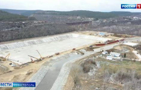 Водовод на реке Бельбек начнёт снабжать водой Севастополь вечером 1 марта