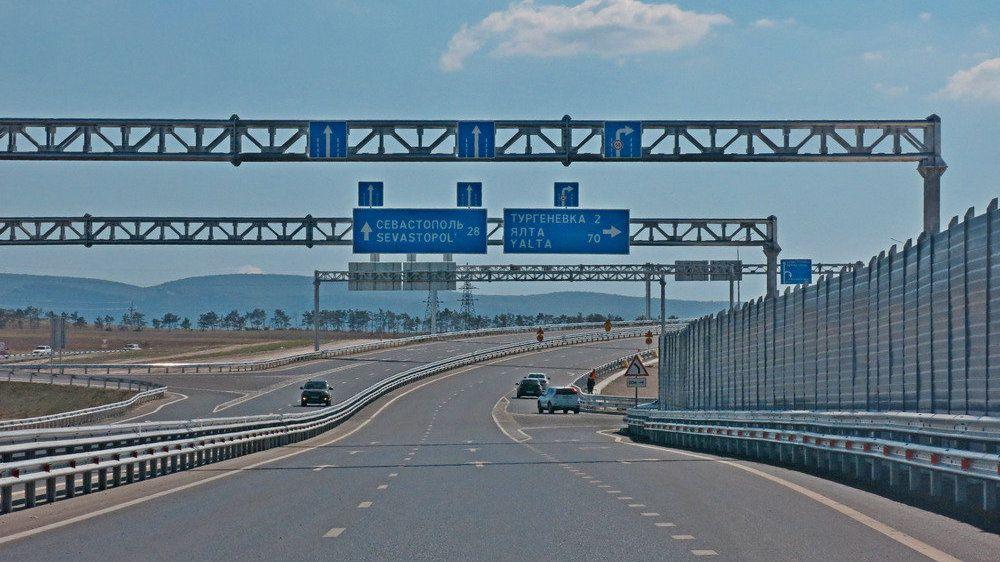 Минтранс РК: На трассе «Таврида» начнут работу автозаправочные станции