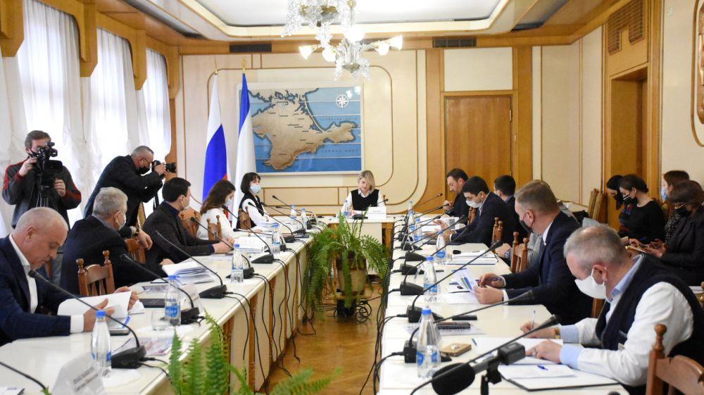 Лариса Кулинич выступила докладчиком на заседании Комитета по имущественным и земельным отношениям
