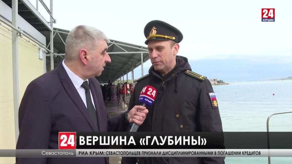 Сотня лучших водолазов Военно-морского флота России соревнуется в Севастополе на конкурсе «Глубина 2021»