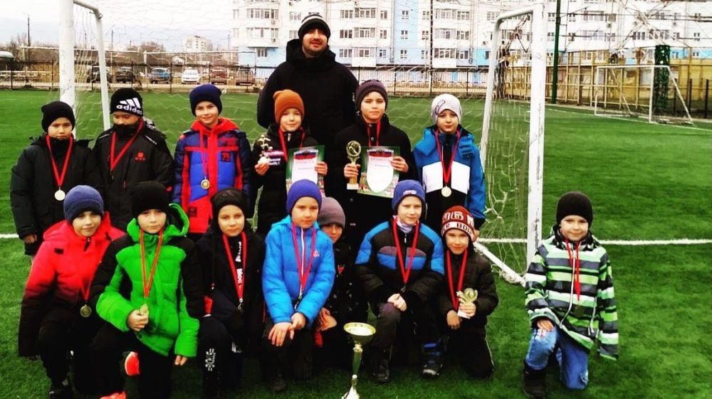 Команда Ленинского района – победитель открытого турнира города Феодосия по футболу среди юношей 2012 г.р.