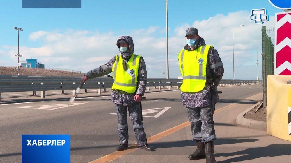 Совещание на Крымском мосту: «рентген» для машин в действии