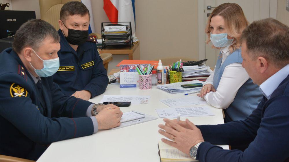 Ольга Торубарова провела рабочее совещание с представителями УФСИН по проведению ВФСК ГТО для лиц, отбывающих наказания в местах лишения свободы