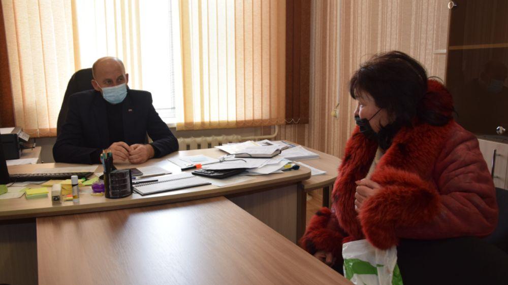 Глава Красногвардейского района возобновил прием граждан