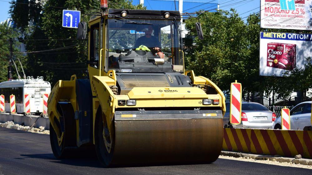 Масштабный ремонт улично-дорожной сети в крымской столице