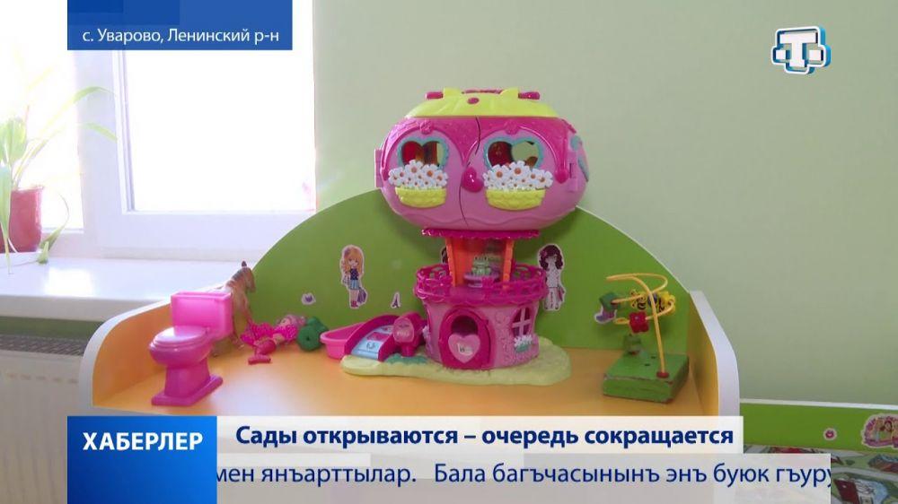 В Ленинском районе после ремонта открылся детский сад