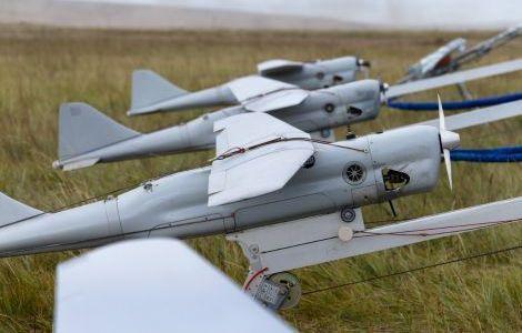 Беспилотники ЧФ отработали полёты в сложных погодных условиях