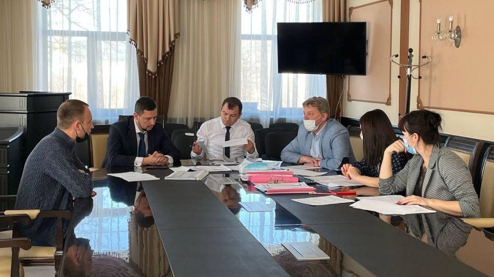 Состоялось заседание комиссии по правилам землепользования и застройки муниципального образования городское поселение Бахчисарай