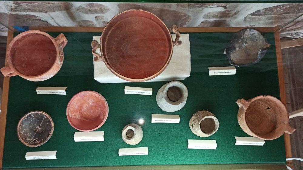 В Судакской крепости представлена выставка из фондов Музея-заповедника «Калос Лимен»