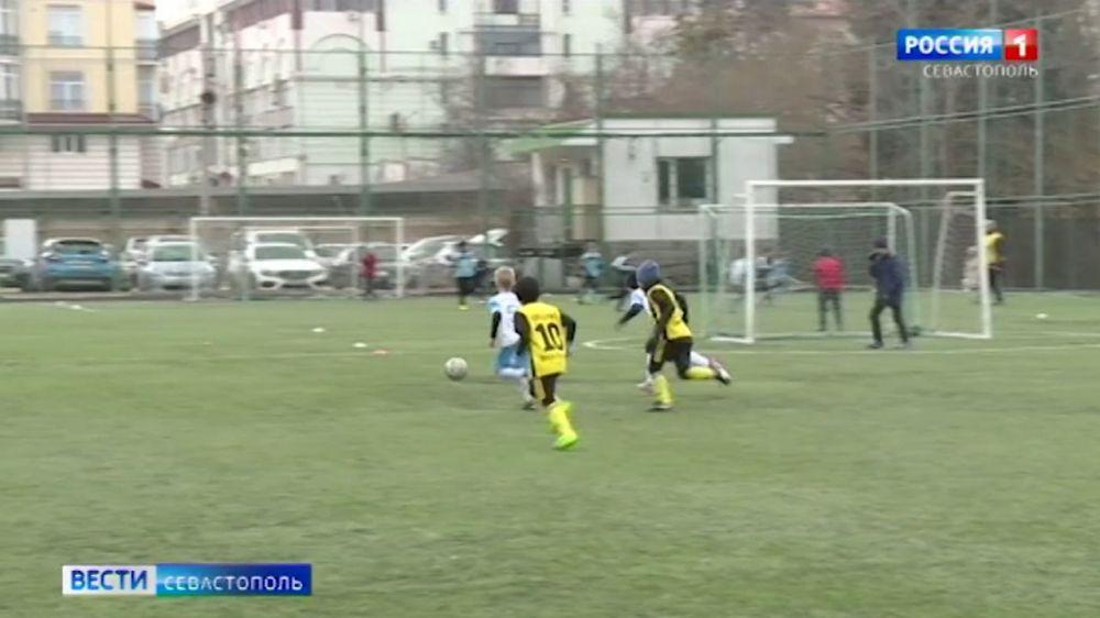 В Севастополе завершилась зимняя серия игр Малой футбольной лиги