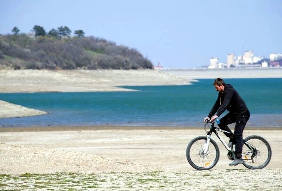 Как за зиму снег наполнил водохранилища Крыма