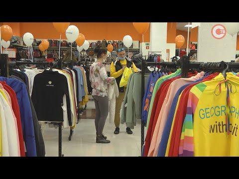 Гипермаркет одежды и обуви «Мегаshop» в Севастополе уже год со своими покупателями (СЮЖЕТ)