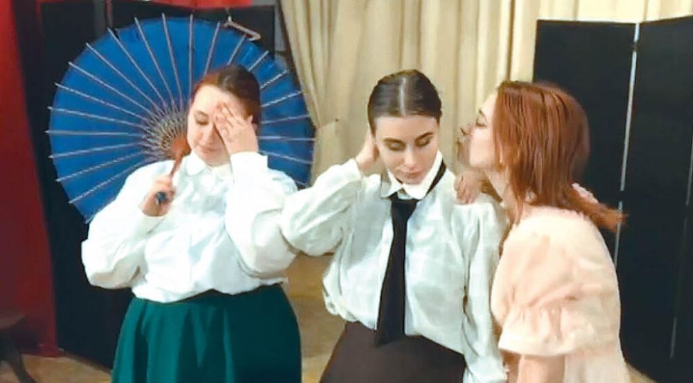 Симферопольский театр «Глобус» представил премьерный спектакль
